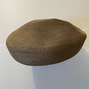 Vintage Accessories - (3/$25) Vintage Woven Pillbox Beret Hat